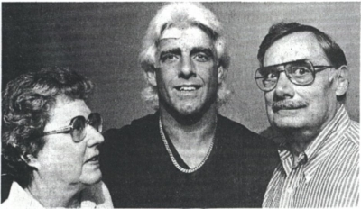 Photo of Dick and Kay Fliehr with their son, Rick