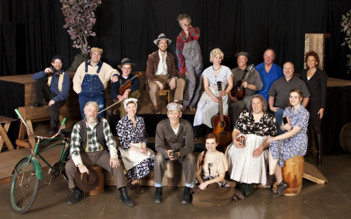 Photo of the Diviners cast